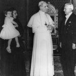 Visita al papa Pio XII